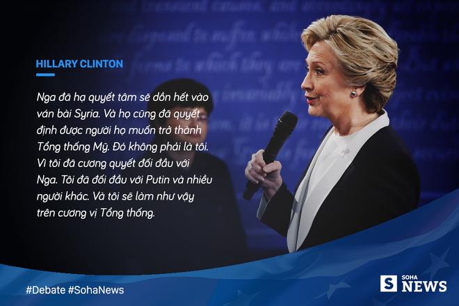 Tranh luận trực tiếp lần thứ hai giữa Trump và Clinton - Ảnh 3.