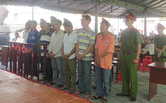 Băng nhóm trộm cắp tài sản của tàu nước ngoài lãnh án 21 năm tù