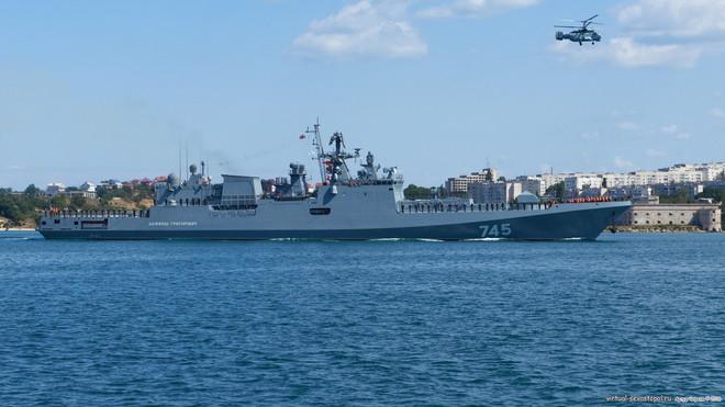Vì sao Nga điều tàu cổ lỗ tập trận với Trung Quốc ở Biển Đông? - Ảnh 3.