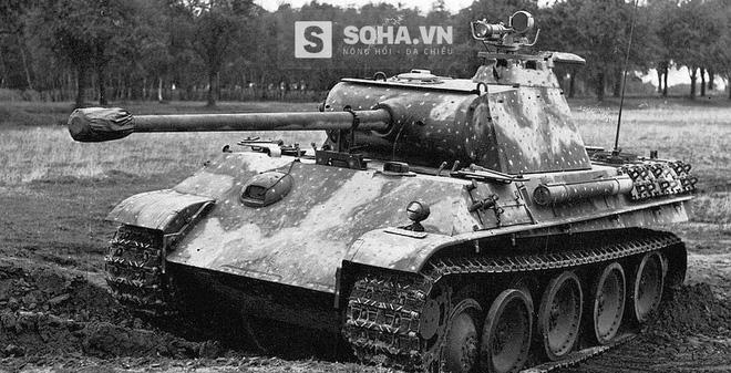 25 điều ít biết về xe tăng Panther của Đức quốc xã