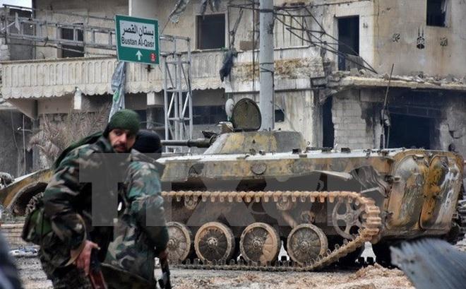 Nga: Quân đội Syria sắp kết thúc chiến dịch tại thành phố Aleppo