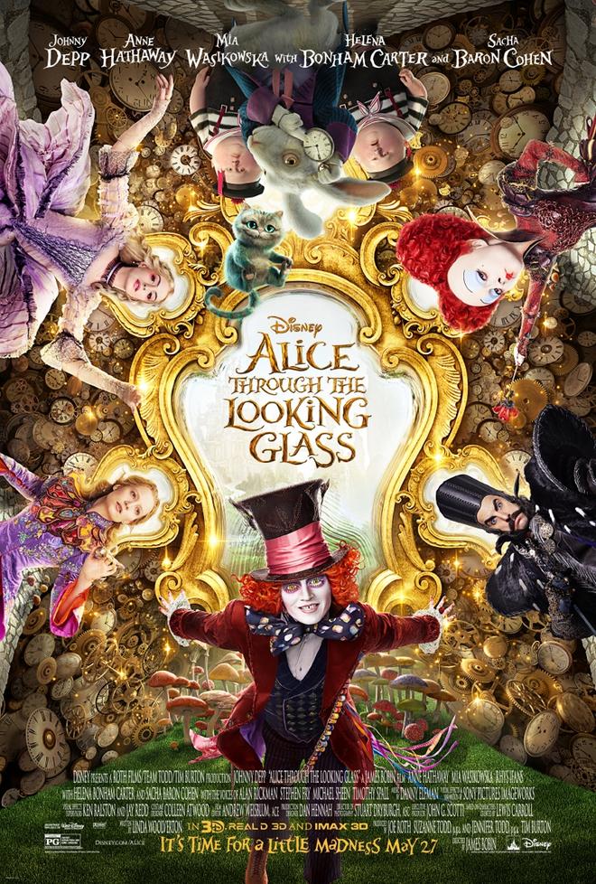 Tặng vé công chiếu phim Alice ở xứ ở trong gương - Ảnh 1.