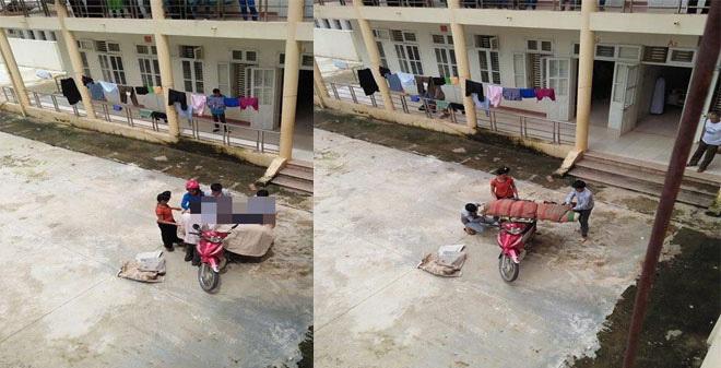 Lại thêm trường hợp quấn chăn chở thi thể về bằng xe máy ở Sơn La