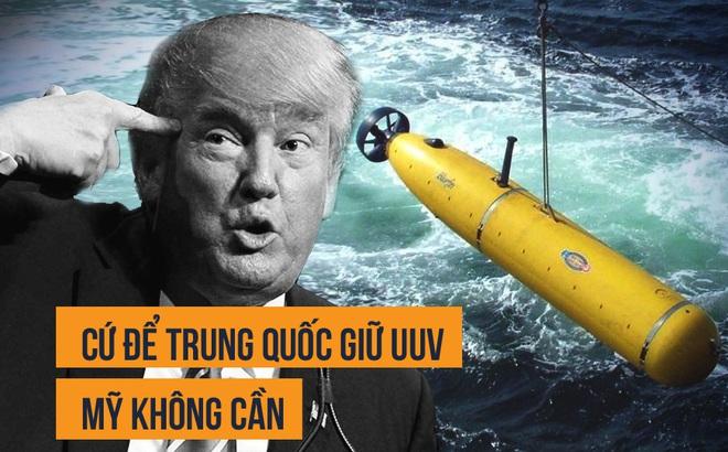 Vụ TQ thu UUV của Mỹ: Nếu không âm mưu ăn cắp công nghệ quân sự thì Bắc Kinh muốn gì?