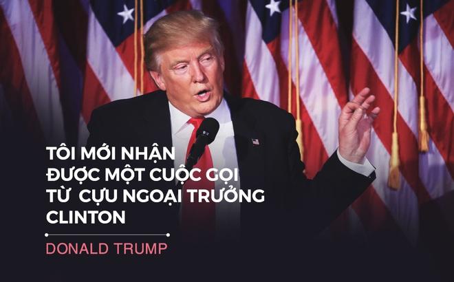 Toàn văn phát biểu chiến thắng của Trump: 'Chiến trường chính trị thật đáng sợ'