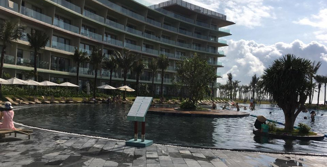Thiếu niên 16 tuổi bị gãy chân khi bơi tại khu FLC ở Thanh Hóa?