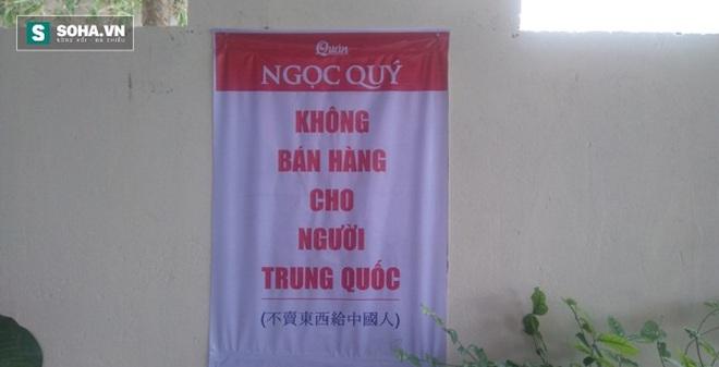 """Nhà hàng Đà Nẵng treo bảng """"không bán hàng cho người Trung Quốc"""""""