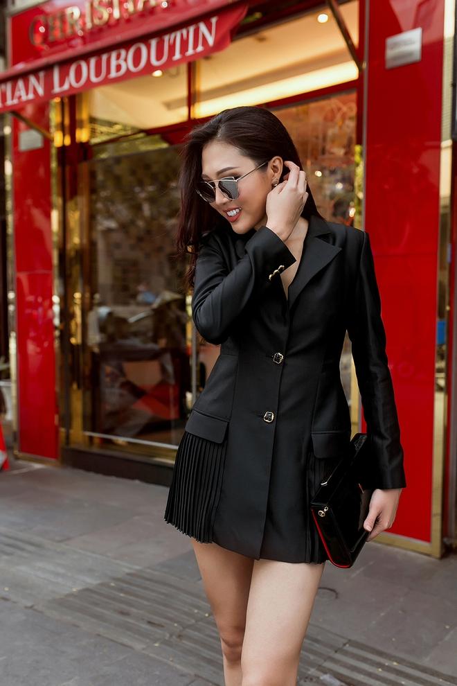 Diệu Ngọc nổi bật với phong cách street style  - Ảnh 8.