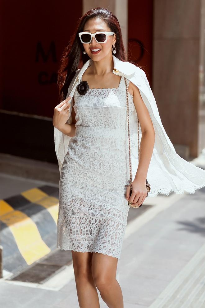 Diệu Ngọc nổi bật với phong cách street style  - Ảnh 6.