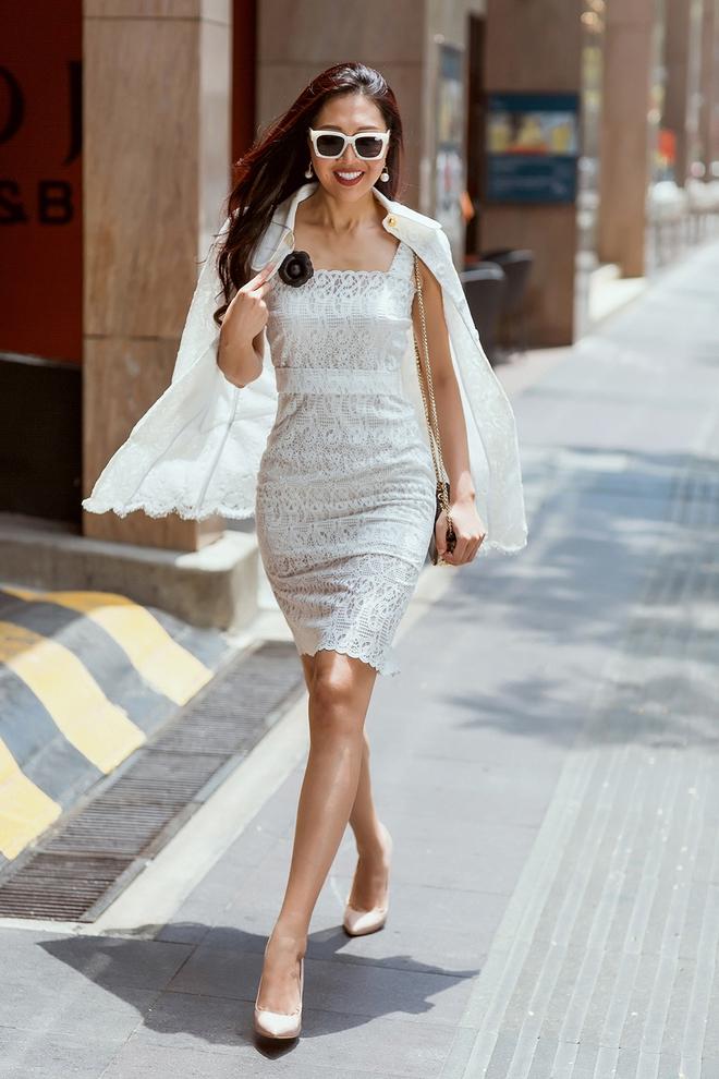 Diệu Ngọc nổi bật với phong cách street style  - Ảnh 5.