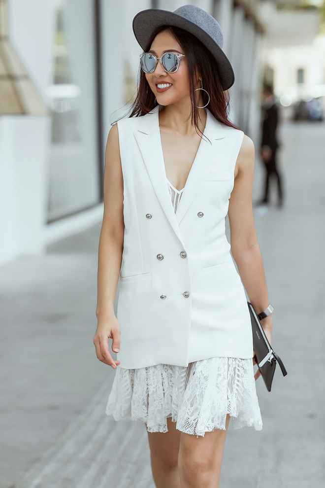 Diệu Ngọc nổi bật với phong cách street style  - Ảnh 4.