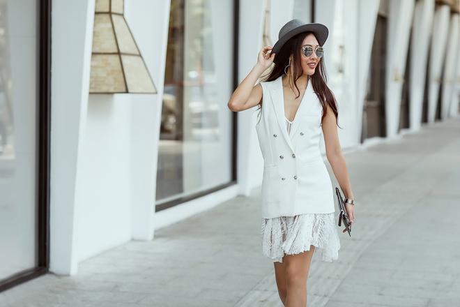 Diệu Ngọc nổi bật với phong cách street style  - Ảnh 3.