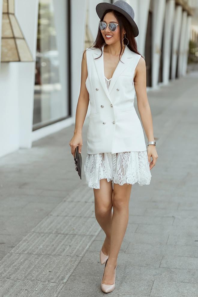 Diệu Ngọc nổi bật với phong cách street style  - Ảnh 2.