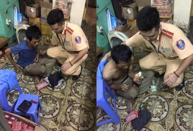 Hành động tuyệt vời của những người lính cứu hỏa giữa phố Hà Nội - Ảnh 3.