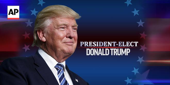 Trump có 278 phiếu đại cử tri, chính thức hạ gục Clinton để bước vào Nhà Trắng - Ảnh 1.