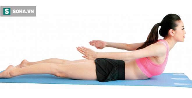 Đau lưng, thoát vị đĩa đệm, bệnh về lưng đừng bỏ qua động tác này