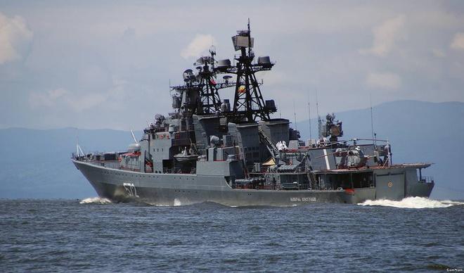 Vì sao Nga điều tàu cổ lỗ tập trận với Trung Quốc ở Biển Đông? - Ảnh 2.