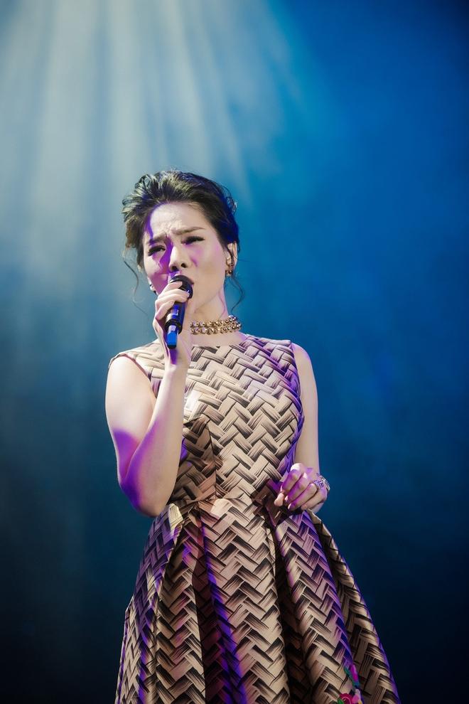 Lệ Quyên tuyên bố sẽ nâng đỡ Quốc Thiên hát nhạc vàng - Ảnh 3.