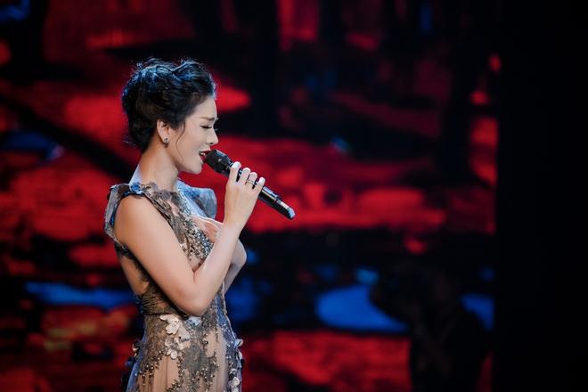 Lệ Quyên tuyên bố sẽ nâng đỡ Quốc Thiên hát nhạc vàng - Ảnh 1.