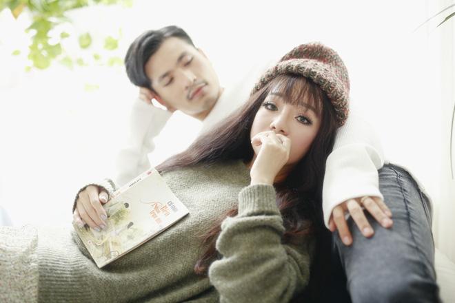 Minh Chuyên xinh đẹp bất ngờ, tình tứ bên trai lạ - Ảnh 4.