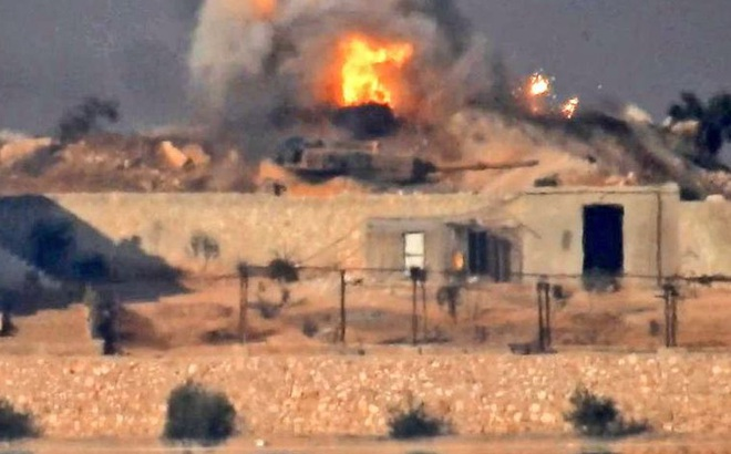 Thổ Nhĩ Kỳ choáng váng: Tên lửa TOW của khủng bố nướng 3 xe tăng Leopard 2A4 trong 2 ngày