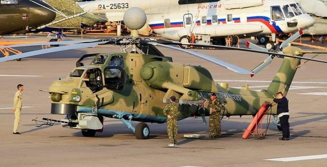 Hình hài kỳ dị nhưng có thật của phiên bản trực thăng Mi-28NM