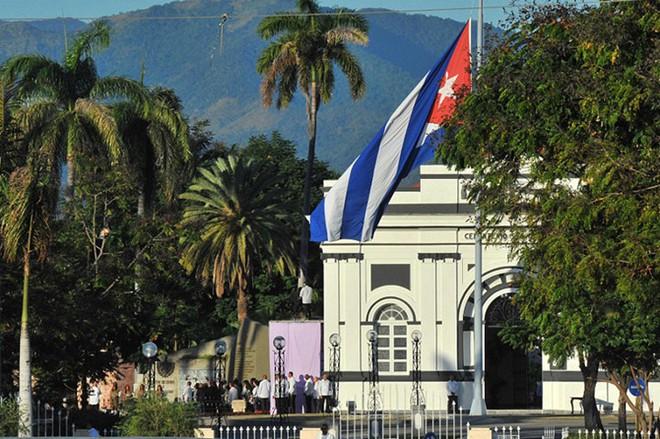 Hình ảnh ngôi mộ rất giản dị của Lãnh tụ Cuba Fidel Castro - Ảnh 8.