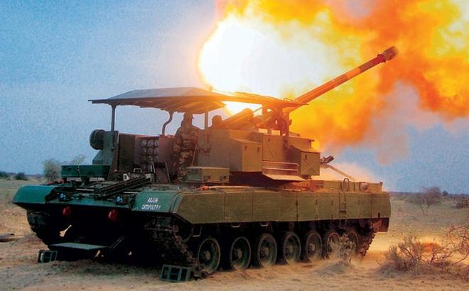 Arjun Catapult - Hệ thống pháo tự hành kết hợp siêu độc đáo của Ấn Độ