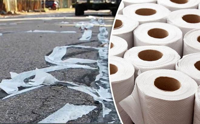 Sửa đường bằng... giấy vệ sinh: Nghe thật điên rồ nhưng hiệu quả không thể ngờ