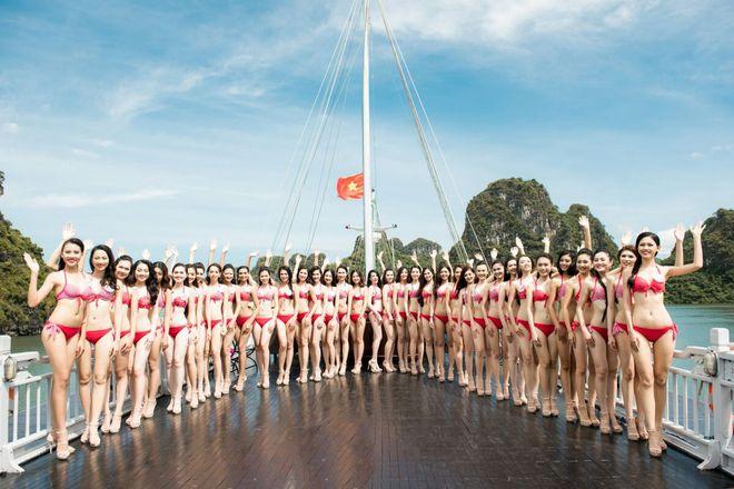 Nóng bỏng ảnh bikini các thí sinh đẹp nhất Hoa hậu VN 2016 - Ảnh 2.