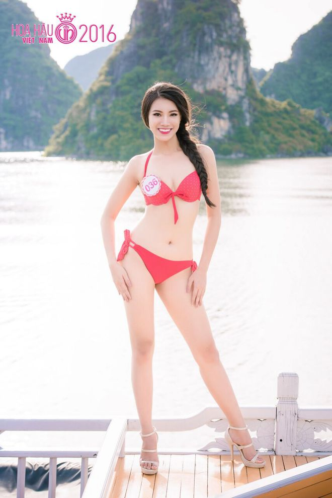 Nóng bỏng ảnh bikini các thí sinh đẹp nhất Hoa hậu VN 2016 - Ảnh 8.