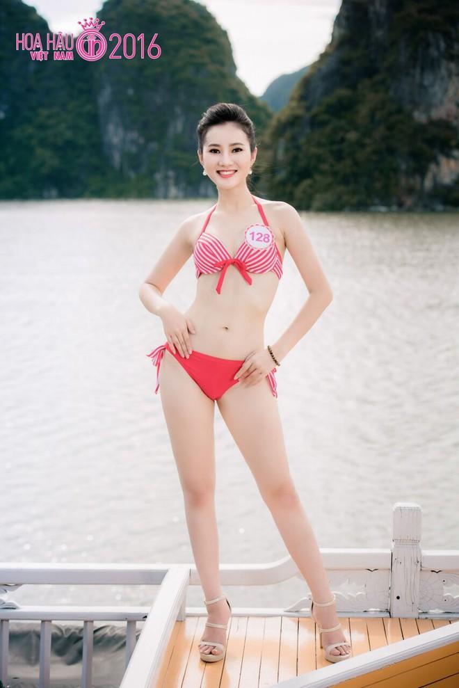 Nóng bỏng ảnh bikini các thí sinh đẹp nhất Hoa hậu VN 2016 - Ảnh 9.