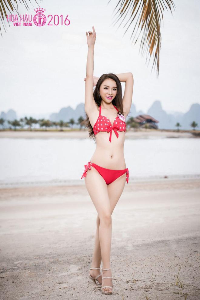 Nóng bỏng ảnh bikini các thí sinh đẹp nhất Hoa hậu VN 2016 - Ảnh 11.
