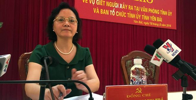 Họp báo vụ Bí thư và Chủ tịch HĐND tỉnh Yên Bái bị bắn chết