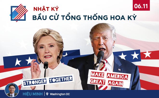 """Từ Washington DC: Cuộc chiến """"Slogan bom tấn"""" của các ứng cử viên Tổng thống"""