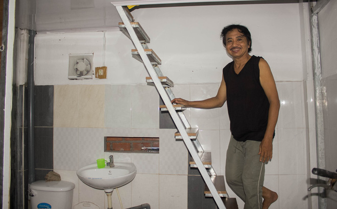 """Cận cảnh nhà mới sạch đẹp không còn là """"chuồng heo cũ"""" của diễn viên nghèo Aly Dũng"""
