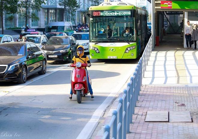 Đây là nguyên nhân khiến xe buýt nhanh không thể... đi nhanh ở Hà Nội - Ảnh 2.
