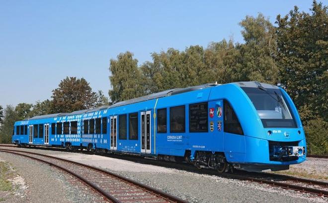 Đức sắp có tàu hỏa chạy hydro, chỉ thải ra hơi nước và nước sạch
