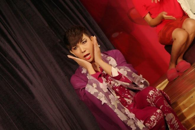 Long Nhật làm thái giám trong vở kịch mới - Ảnh 1.