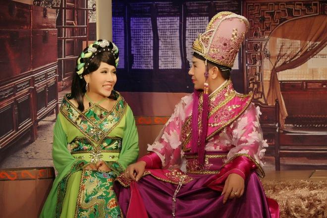 Long Nhật làm thái giám trong vở kịch mới - Ảnh 4.