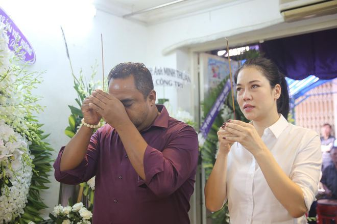 Chồng Thu Phương ám ảnh lời nói của Minh Thuận trước khi qua đời - Ảnh 1.