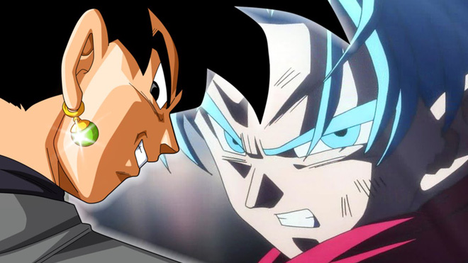 Black Goku vs Trunks