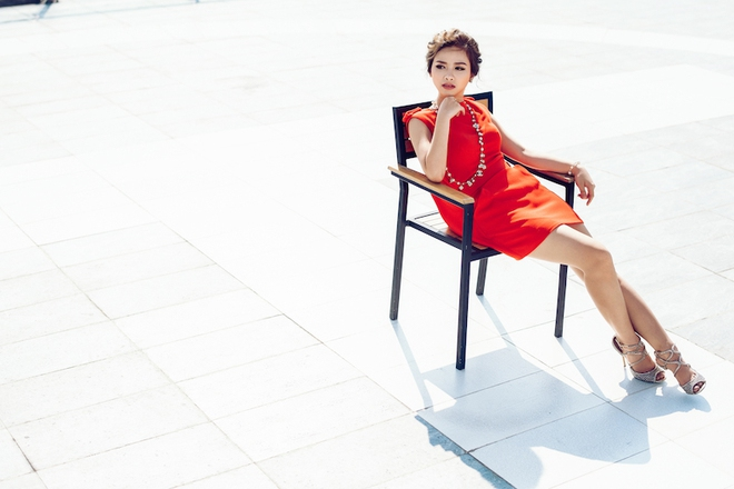 Dương Hoàng Yến ngày càng gợi cảm nhờ ăn mặc táo bạo - Ảnh 3.