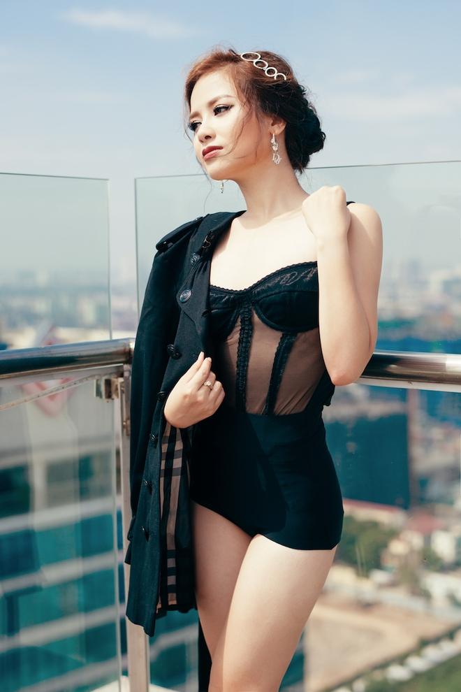 Dương Hoàng Yến ngày càng gợi cảm nhờ ăn mặc táo bạo - Ảnh 7.