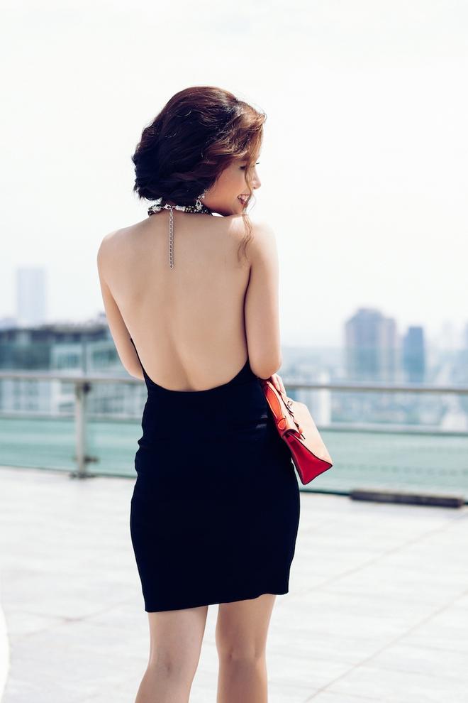 Dương Hoàng Yến ngày càng gợi cảm nhờ ăn mặc táo bạo - Ảnh 6.