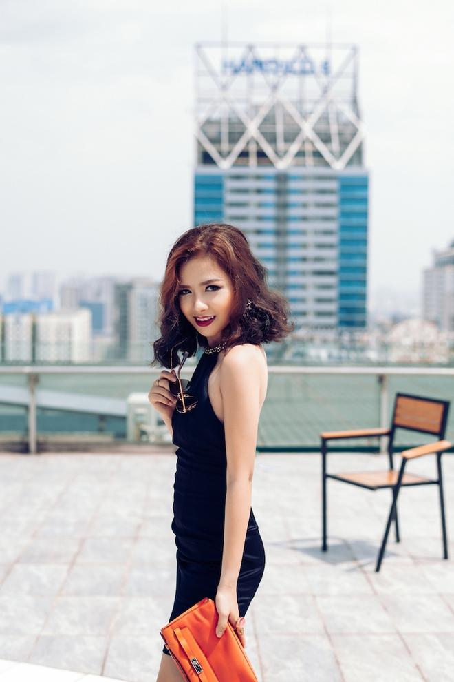 Dương Hoàng Yến ngày càng gợi cảm nhờ ăn mặc táo bạo - Ảnh 5.