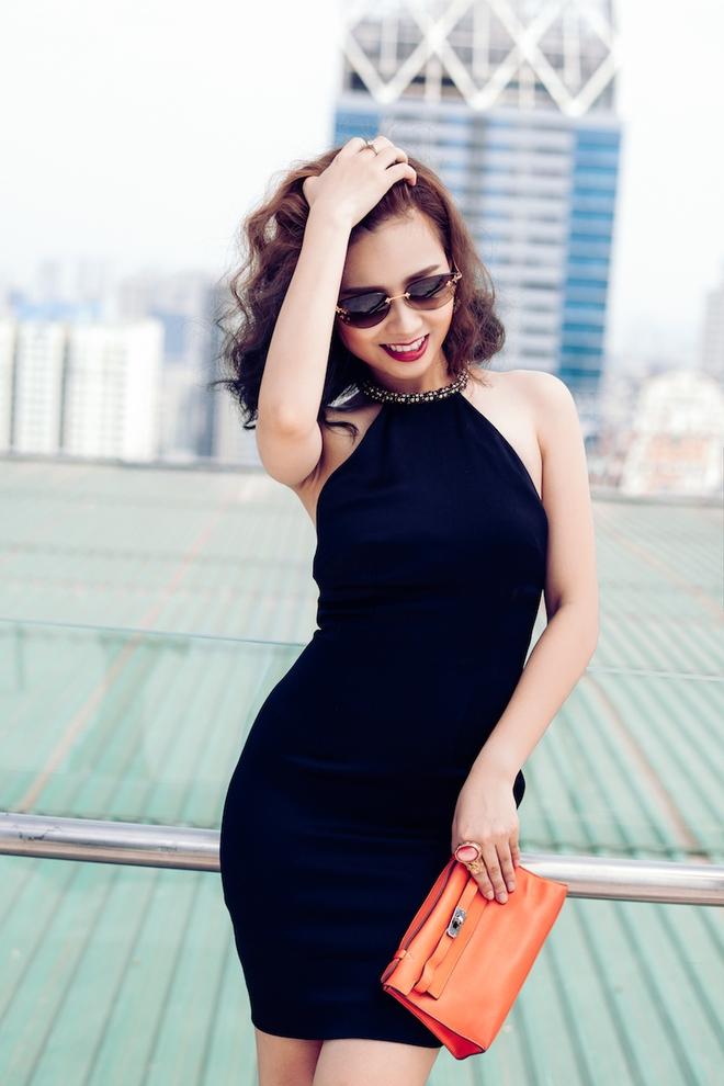 Dương Hoàng Yến ngày càng gợi cảm nhờ ăn mặc táo bạo - Ảnh 4.