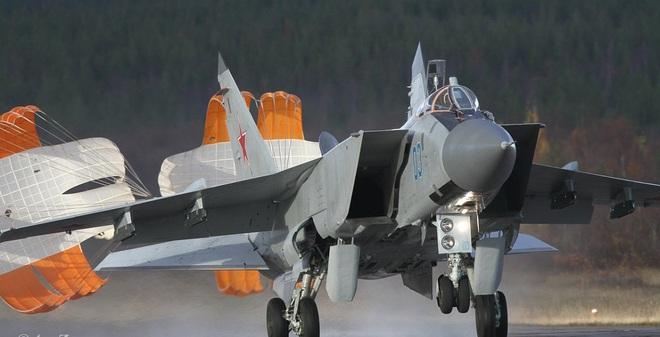 Tiêm kích MiG-31 của Không quân Nga.