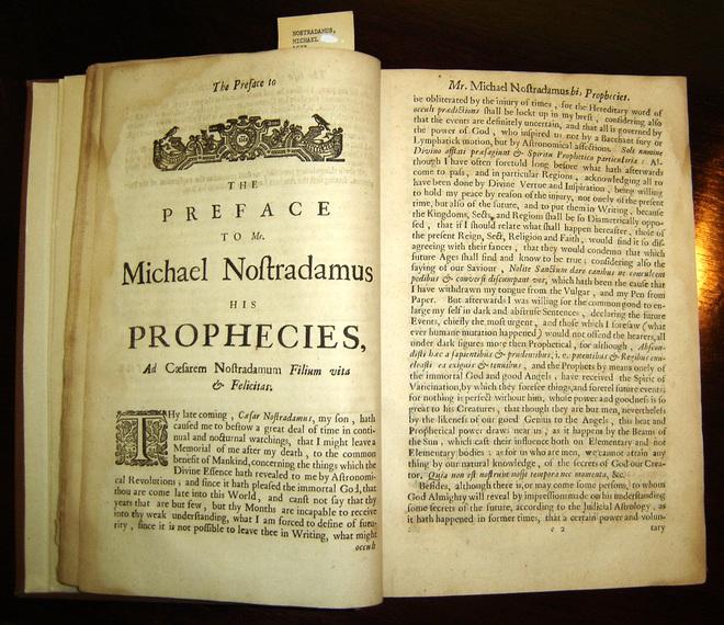 Vận mệnh đáng sợ của Trái Đất theo tiên tri của Nostradamus - Ảnh 2.