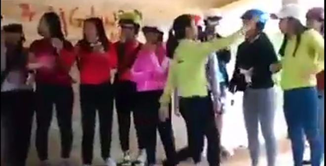Clip nữ sinh đánh nhau ở Đắk Lắk: Do mâu thuẫn về tình cảm?